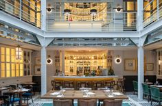 A selection of the best restaurants in Paris The Marais District Restaurants In Paris, Luxury Restaurant, Restaurant Design, Restaurant Interiors, Restaurant Ideas, Cultural Architecture, Architecture Design, Three Days In Paris, Gastronomia