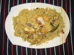 Cuisine of Karachi: Fish Biryani  فش بریانی