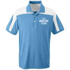 I Sell Medicare Plans Team 365 Colorblock Polo