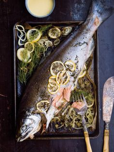 Fennel-Roasted Whole Salmon - Williams-Sonoma Taste