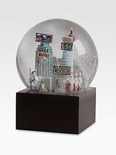 Saks Fifth Avenue Las Vegas Snow Globe #givesaks #Saks