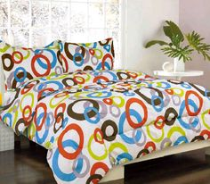 New Kids Bedding Circus Multi Color Bed in a Bag Twin , Full, Comforter Kids Comforters, Kids Bedding Sets, Comforter Sets, Circle Bed, Girls Twin Bed, Teen Girl Bedding, Luxury Duvet Covers, Bed In A Bag, Home Goods