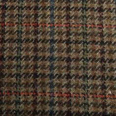 Plaid Check Wool Donegal Tweed - Le Souk