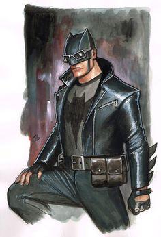 Rockabilly Batman by Adi Granov *