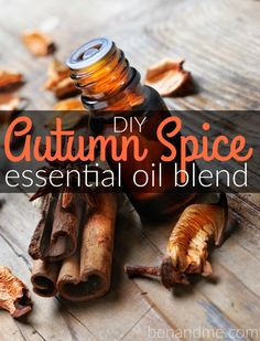 I've replaced my candles with essential oil diffusers in the past couple of years, and this fall, I spent some time perfecting a recipe for an autumn scent that reminds me of those bygone days of candles.   I love that I can combine the wonderful scents of fall with the health-giving properties of essential oils.