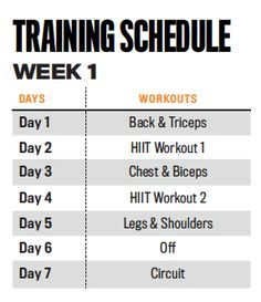 The XTEND Perform 21-Day Challenge Workout | Muscle & Fitness