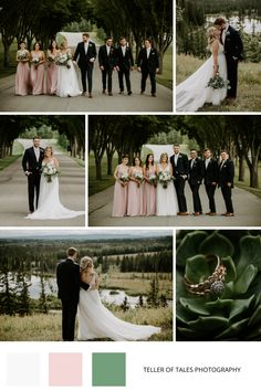 Romantic summer wedding in Calgary. To see more of this Pinebrook Golf Course wedding visit Teller of Tales Photography. Wedding Couples, Wedding Photos, Party Photos, Wedding Ideas, Groom Wear, Groom And Groomsmen, Wedding Color Schemes, Wedding Colors, Succulent Wedding Favors