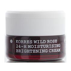Korres Wild Rose 24-Hour Moisturising & Brightening Cream - Normal to Dry Skin SPF6 40ml - feelunique.com