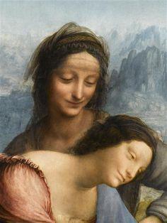 Léonard de Vinci | La Vierge, l'Enfant Jésus et sainte Anne | Images d'Art