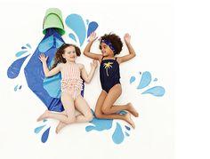 Mini Rodini Swimsuits in La Petite Mag