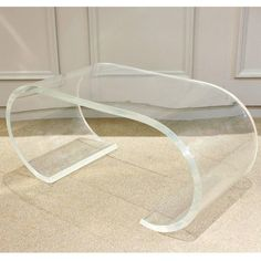CBLucite Coffee Table Pro Tip Not Currently In The Budget Find - Cb2 lucite coffee table