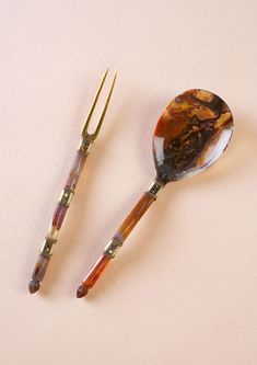 Burghley Collections | A South German or English gold and jewel set agate spoon, circa 1580.