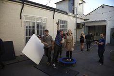 Behind the scenes shot: How we did it! #dashforthesun