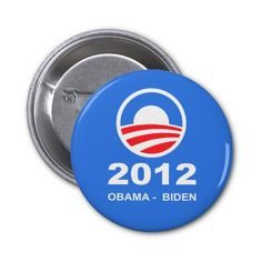 Obama - Biden Button