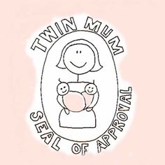Seal of Approval Mum of Twins Card Mother's Day Gift Card, Inspirational Words Of Wisdom, Mothers, Personalized Gifts, First Love, Seal, Twins, Unique Gifts, Cards
