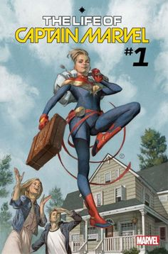 """Margaret Stohl and Carlos Pacheco Retell Carol Danvers Origins That """"Change Everything"""" in The Life Of Captain Marvel #1 in July"""