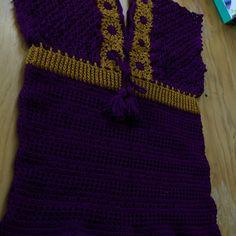 """6 Me gusta, 1 comentarios - La que teje (@lady_tru_tru) en Instagram: """"Blusa #TruTru, crochet, hilaza de algodón."""""""