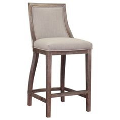 Park Avenue Beige Linen Counter Stool - Overstock™ Shopping - Great Deals on 555 Bar Stools