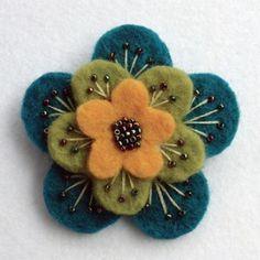 25+ unique Felt brooch ideas on #felting
