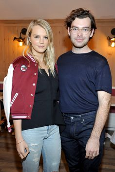 Baby2Baby founder Kelly Sawyer Patricof and Cameron Bird attend Little Marc Jacobs Celebration
