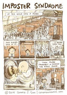 #CharlieBrown makes an appearance in Sarah's Scribbles!   Read more #comics @ www.gocomics.com/connie-to-the-wonnie/2015/04/13?utm_source=pinterest&utm_medium=socialmarketing&utm_campaign=social-pin-crossover-peanuts65   #GoComics #webcomic #Peanuts