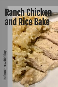 Easy No Peek Chicken Recipe- Ranch Chicken and Rice in the oven is an easy dinner your kids will love! Chicken And Rice Dishes, Easy Chicken And Rice, Cream Of Chicken Soup, Chicken Recipes, Rice In The Microwave, Rice In The Oven, No Peek Chicken, Baked Ranch Chicken, Ground Beef Enchiladas