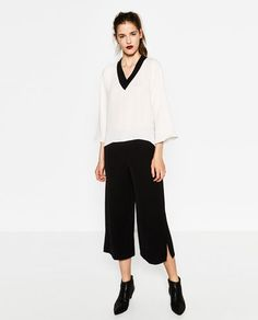 V-NECK TOP-Collection-MONDAY TO FRIDAY-WOMAN | ZARA United States