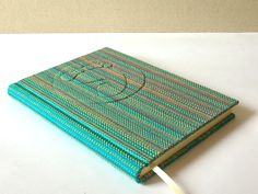 Fabric Covered, Binder, Notebooks, Hand Weaving, Home Decor, Trapper Keeper, Hand Knitting, Decoration Home, Room Decor
