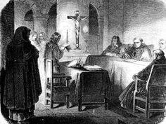 Tribunal de la Inquisicion,aqui se decidia quien debia ser torturado por no seguir los canones de la Iglesia.