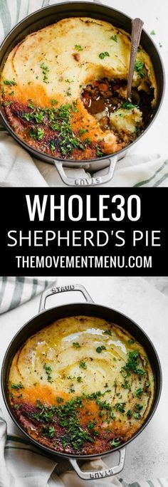 Whole30 Shepherd's Pie | Posted By: DebbieNet.com
