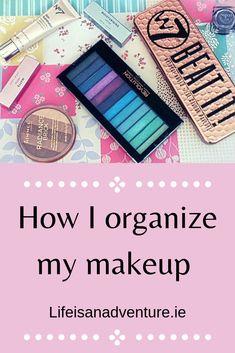 Makeup. organisation. lifestyle. makeup products.