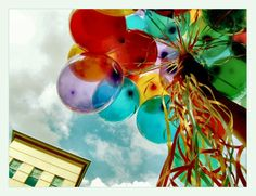 Color Photography | balon, color, photography, sky - image #135711 on Favim.com