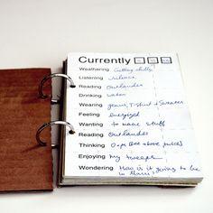 """Currently"" journal.  good idea!!"