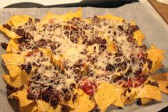 Outi's life Nacho food Nachos, Mexican, Ethnic Recipes, Food, Essen, Meals, Tortilla Chips, Yemek, Mexicans