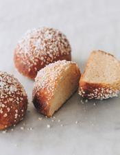 Recette brioches au sucre