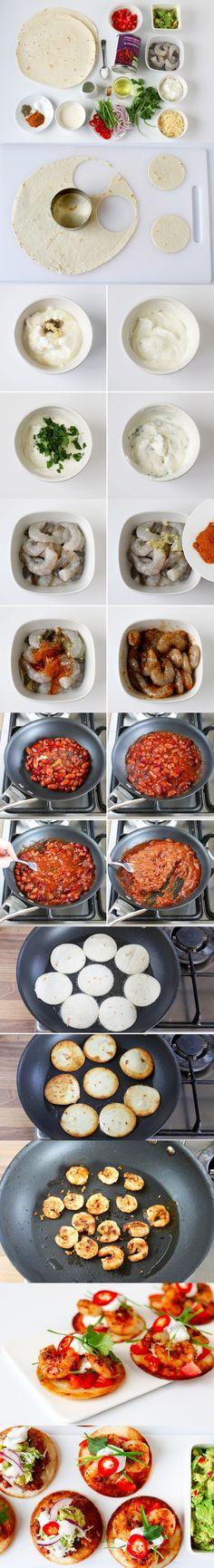 Deliciosos aperitivos DIY / http://www.brit.co/