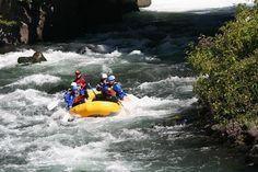 White Salmon River Rafting out of White Salmon, WA. Scary!
