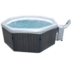 smart spa supply inflatable hot tub includes matching spa body control pack and topside - Wayfair Hot Tub