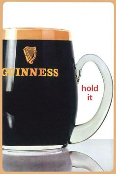 VINTAGE 1960'S GUINNESS AD--