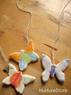 Super craft recipe: how to make DIY clay and a beautiful butterfly craft