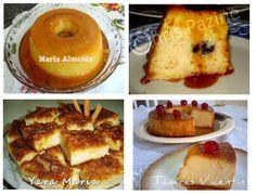 Culinária-Receitas - Mauro Rebelo: Receitas de Pudim de Pão