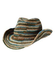 Blue Kohala Cowgirl Hat by Athleta #zulily #zulilyfinds