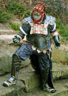 awesome cosplay - Ganon from the various Zelda titles.