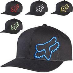 e5a12ad98ea Fox Racing Mens Flex 45 Legacy Flexfit Fitted Cap MX Motocross Moto Hat Mx  Motocross
