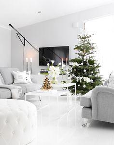 roomdeco.blogg.se Living Room Designs, Living Room Decor, Pretty Room, Nordic Home, Beautiful Interior Design, Apartment Design, Christmas Home, Interior Inspiration, House Styles