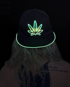 Light Up Marijuana Hat b004eb4ab594
