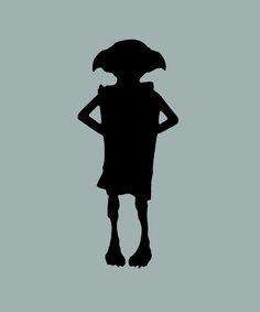 Dobby Silhouette Dobby the house elf silhouette