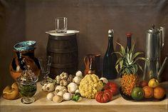 José Agustín Arrieta (1803-1874) — Still Life (826x550)