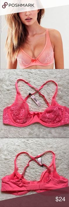 VS 36B Unlined Demi Bra Unlined Victoria's Secret Intimates & Sleepwear Bras