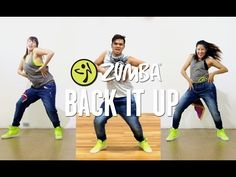 Back It Up | Zumba Fitness | Live Love Party - YouTube
